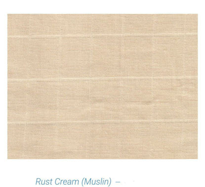Picture of 100% ORGANIC COTTON MUSLIN - HAND DYED