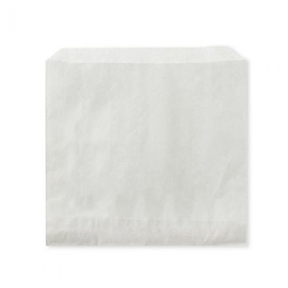 """Picture of 7"""" WHITE STRUNG BAGS"""