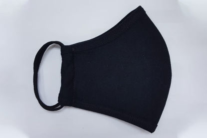 Picture of Black face-mask Certification: CE Approved, Anti-bacterial and OEKO-Tex®