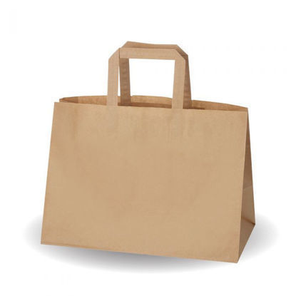 Picture of BROWN SOS BAG (340X245X175)