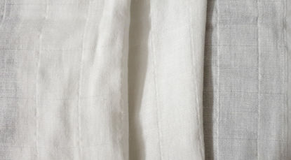 Picture of 100% ORGANIC COTTON MUSLIN - NATURAL WHITE