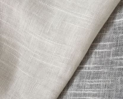 Picture of 100% ORGANIC COTTON  MUSLIN LINEN - NATURAL WHITE