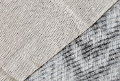 Picture of 100% MUSLIN LINEN - NATURAL WHITE