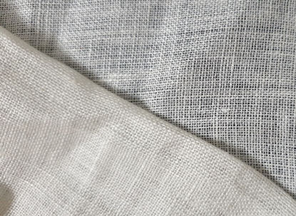 Picture of 100% LINEN MUSLIN - NATURAL WHITE