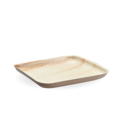 Picture of Square Flat Palm Plate 20cm