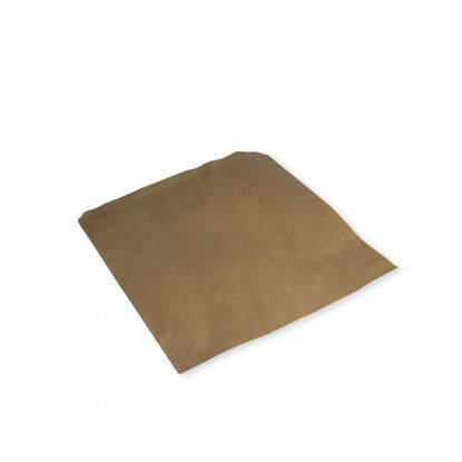 """Picture of 7"""" BROWN KRAFT STRUNG BAGS"""