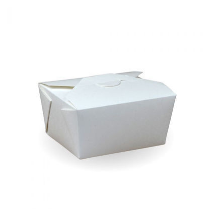 Picture of #1 Recyclable White PE Hot Food Box