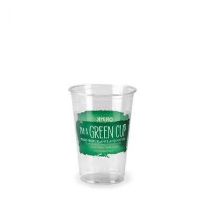 """Picture of 7oz PLA Tumbler - """"I'm a Green Cup"""""""