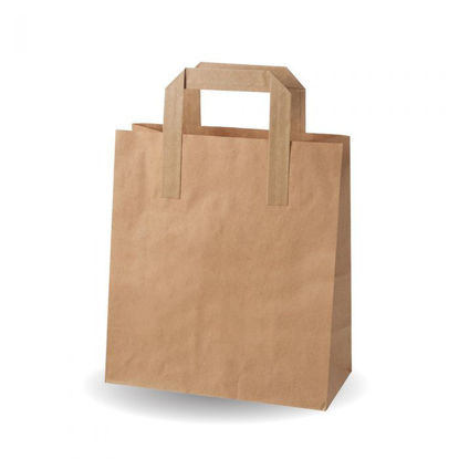 Picture of Brown Kraft Strung Bags