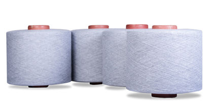 Picture of Recycled Melange Yarns 24s Ne (60/40 Cotton Poly Blended Dyed Yarns)