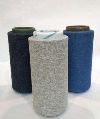 Picture of Recycled Melange Yarns 28s Ne (60/40 Cotton Poly Blended Dyed Yarns)