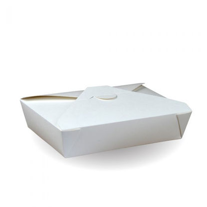 Picture of #2 Recyclable White PE Hot Food Box