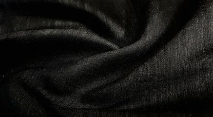 Picture of Cotton Silk Black Chanderi
