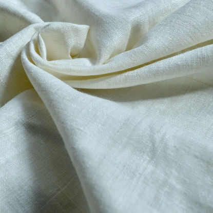 Picture of 100% Peace Silk hand spun and handwoven  (natural white)