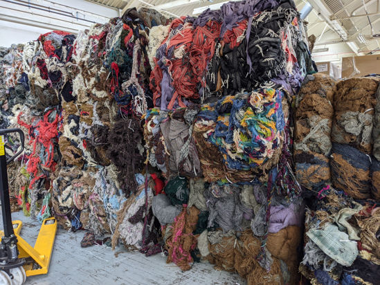 Picture of Bales of selvedge (wool) - 28 bales (300 kilos p/bale)