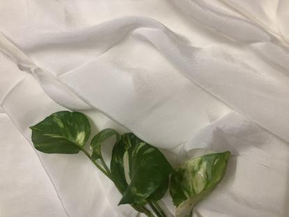 Picture of Orange Crepe Fabric