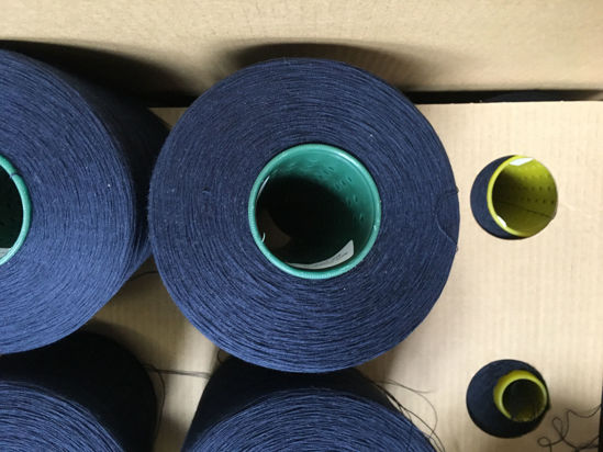Picture of Yarn - Excess yarn due to go landfill